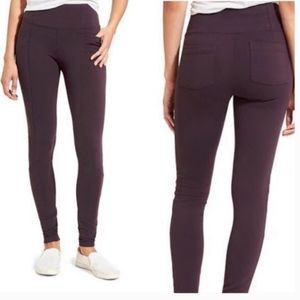Athleta Metro High Waisted Leggings Plum Purple